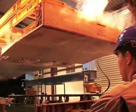 Préfabrication béton