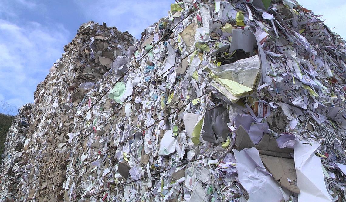 Film recyclage déchets