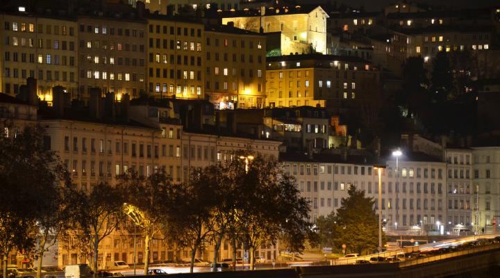 Les pentes de la Croix-Rousse Lyon